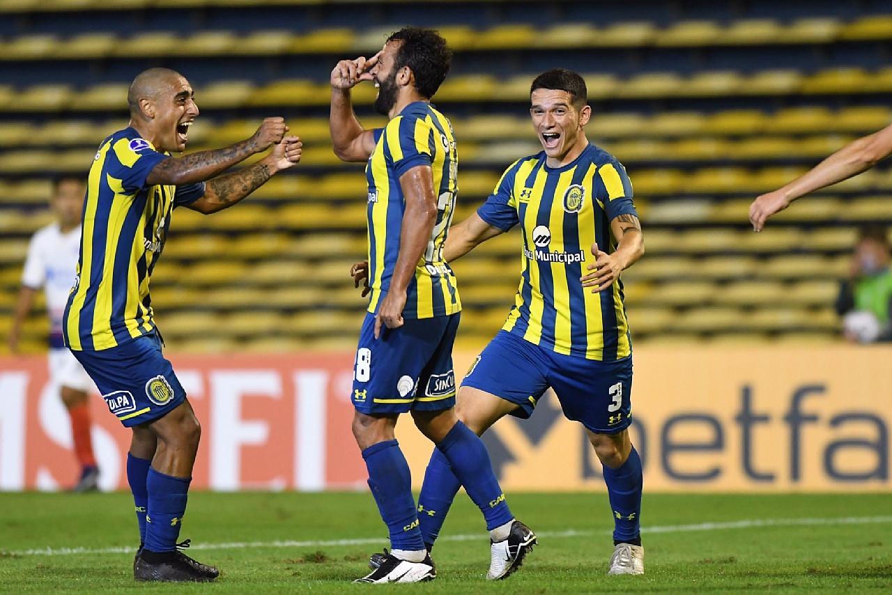 Lucas Gamba selló la victoria de Rosario Central sobre San Lorenzo